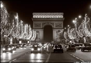 Visit the Champs Elysees in Paris